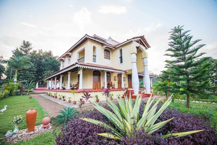 Indo Portuguese 4 Star* Mansion  Divar Island  Goa