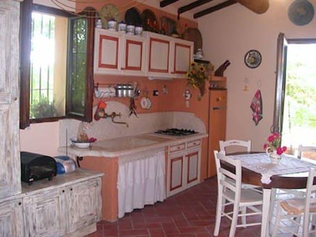 Casa Sole-Toscana romantica-natura-piscina privata