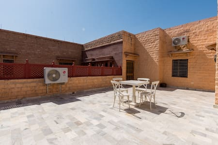 A stay with a terrace in Jodhpur's quiet heart