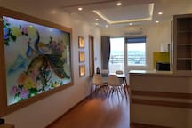 2BR Modern Apartment Partial Sea View, City View