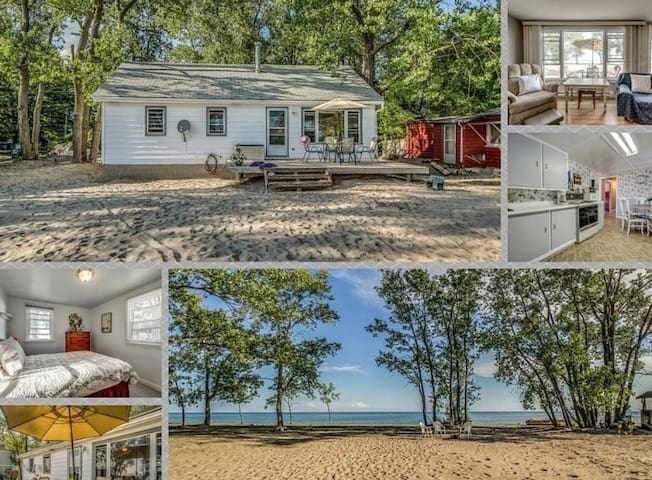 Long Point Beachfront Cottage - Port Rowan - キャビン
