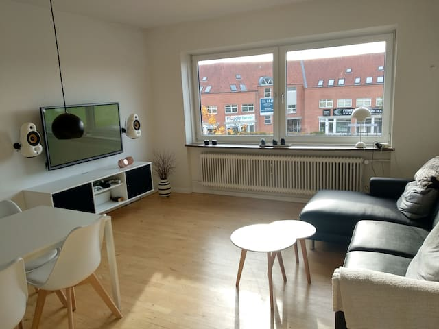 Cozy apartment only 5 min walk from the city.