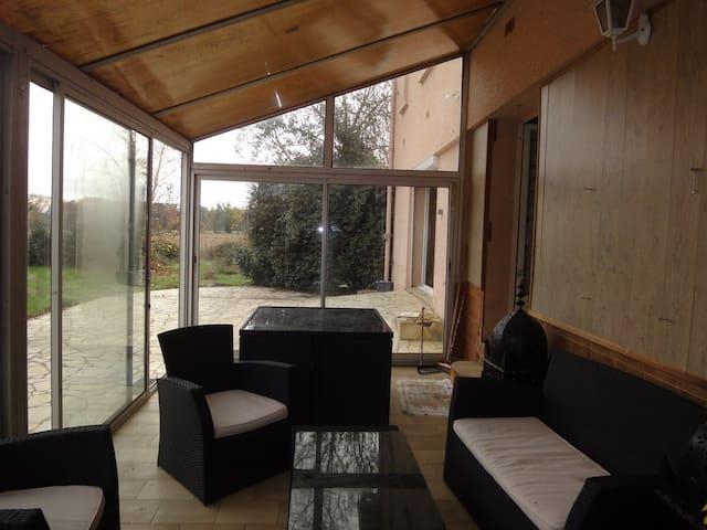 Beaux lofte situé dans un parc - Lavaur - อพาร์ทเมนท์