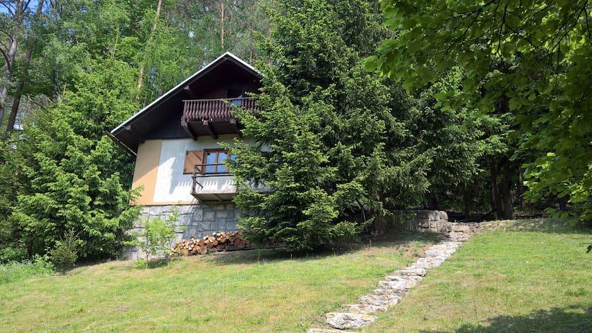 Romantic cottage in the Czech bohemian paradise