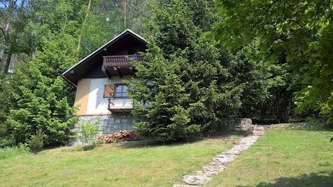 Casa-de-campo romântica no paraíso boêmio checo