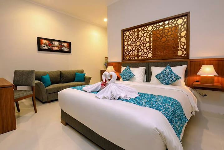1 Family Suite Room In Renon - Denpasar - Huoneisto