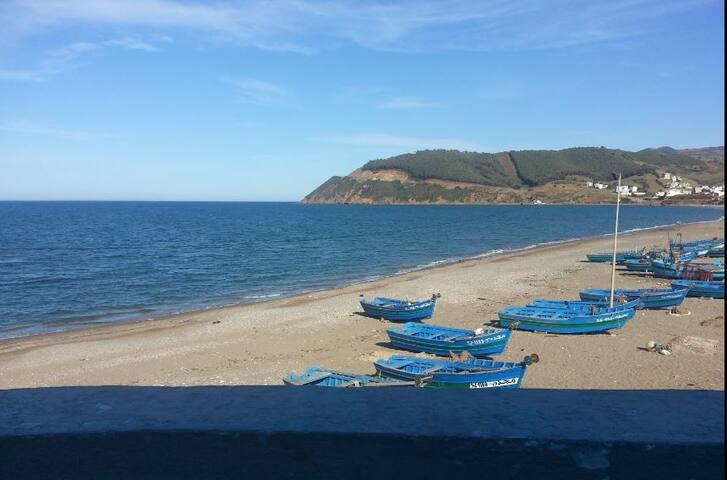 Relax en Première ligne de plage, AZLA - Azla - Lejlighed