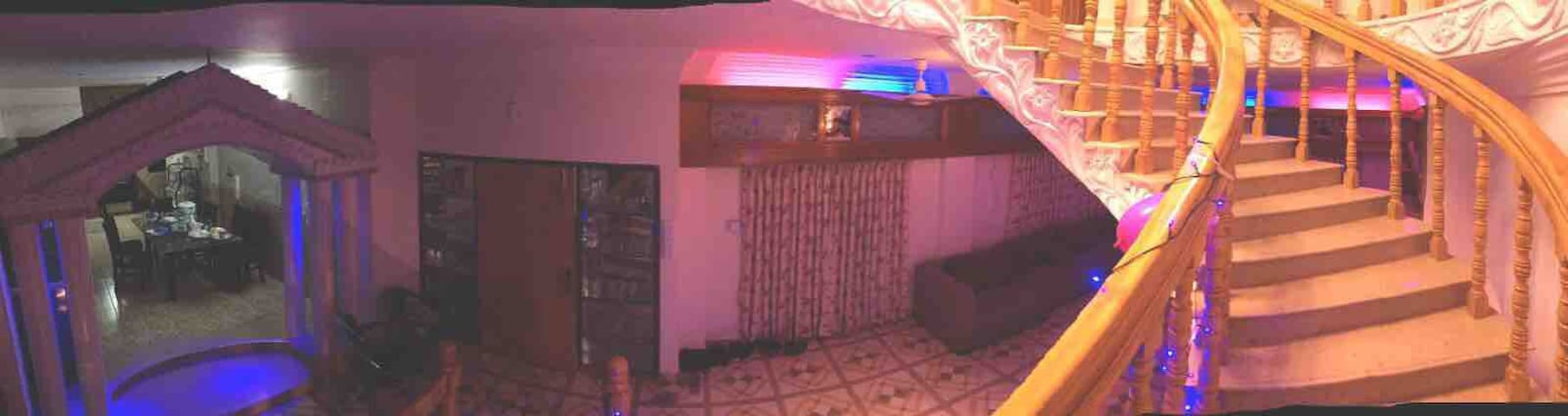 Our apartment is very near from Dhaka airport