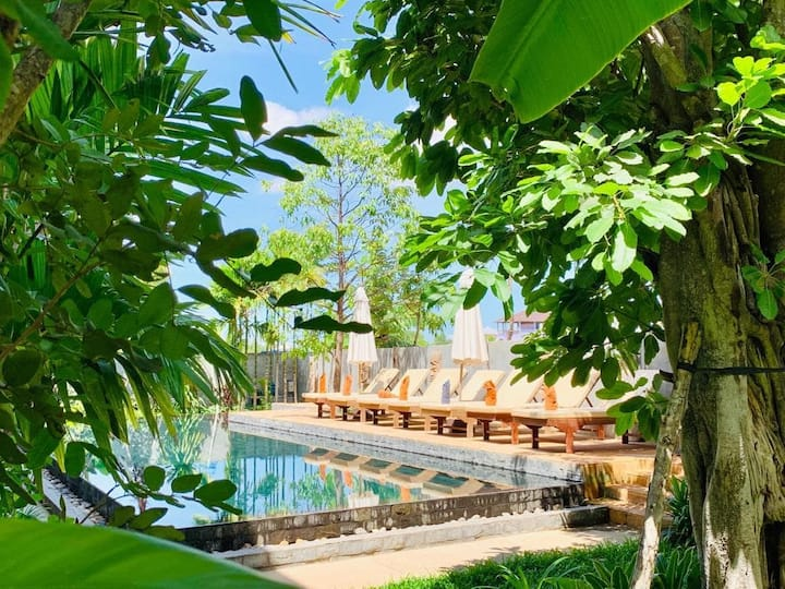 The Nature- Family 2 Bedrooms Suite+swimming pool