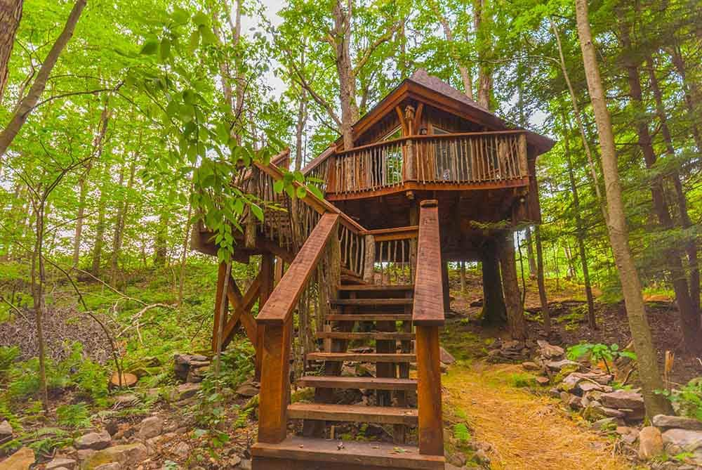 Treehouse in the Laurel Highlands