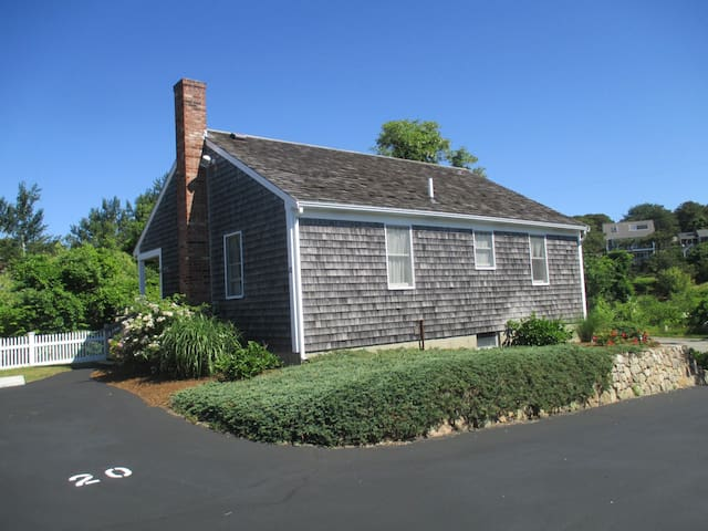 Beach Comber Cottage with 2 on-site parking spaces.