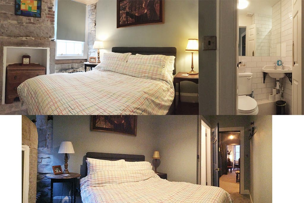 Bedroom and En Suite:  view both from directions