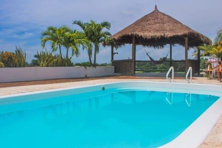 Casa Finca a  10 minutos de Cartagena -Turbaco Bol