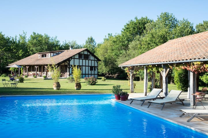 Charming Villa - Heated Pool - Saint-Julien-en-Born - Villa