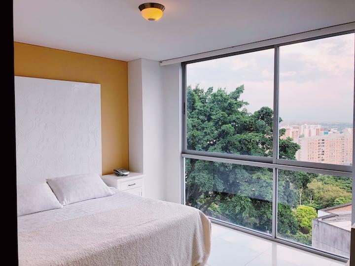 Moderno Apartamento/Menga/ con hermosa vista!