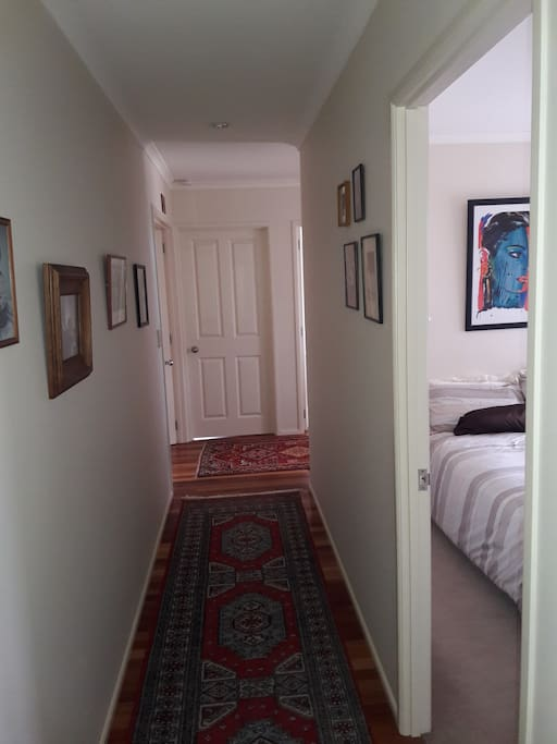 Passage to the bedroom