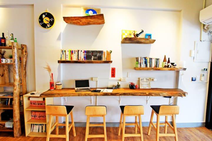 【女生專屬房/床位】台東市,背包客,青年旅館,平價乾淨,朋友出遊,女生專用房間。