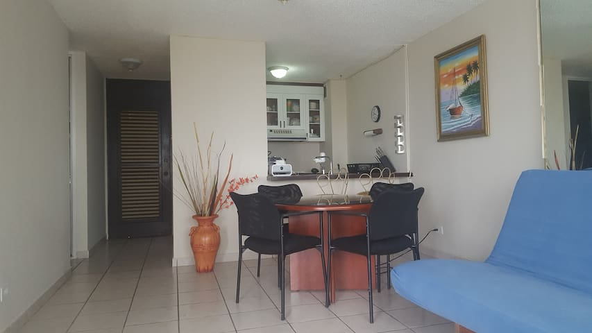 Front Beach Apartment - Luquillo