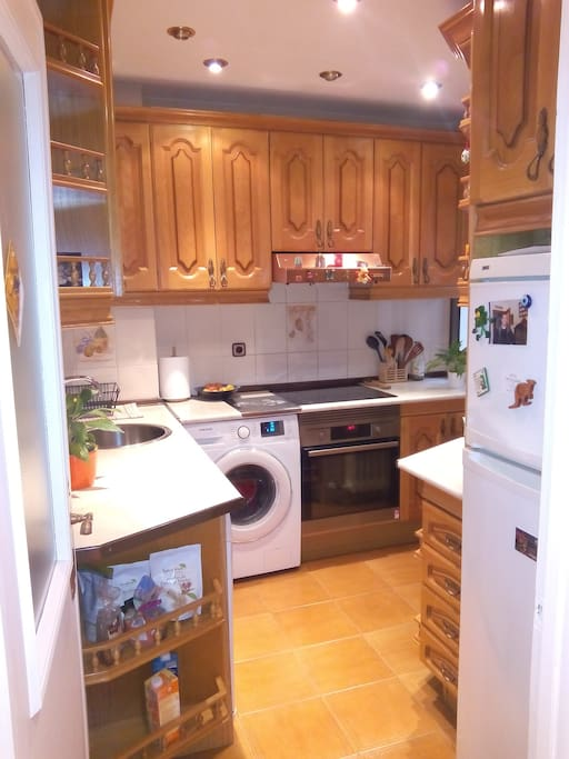 nice and clean kitchen