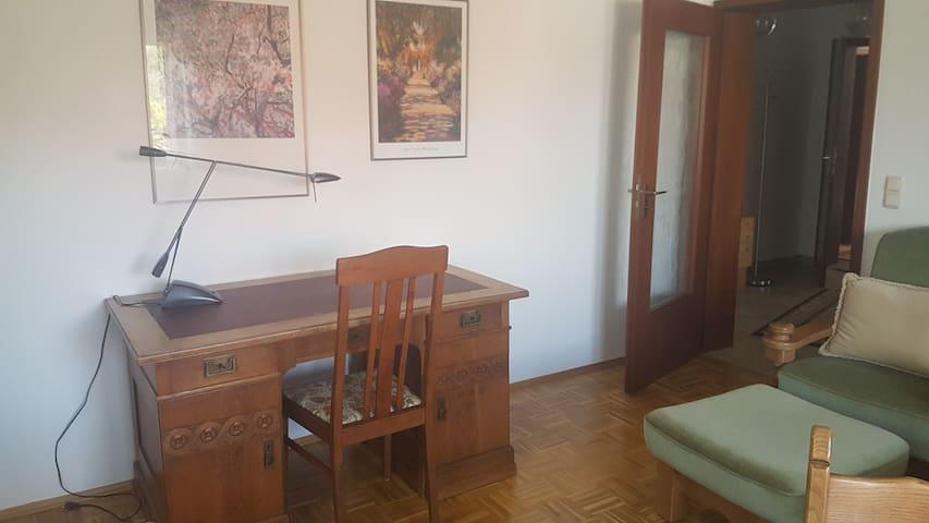 Ruhige, helle Wohnung direkt am Göttinger Waldrand