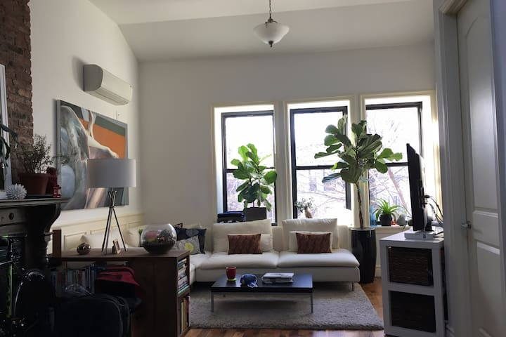 Cute crown heights private bedroom - บรุกลิน - อพาร์ทเมนท์
