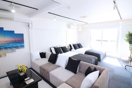 Roppongi sta. 6min walk! 3bed room/Max 16ppl! - Minato-ku - Apartamento