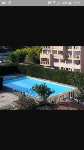 f2  securisé,piscine,parking 4 pers - Sainte-Maxime - Pis