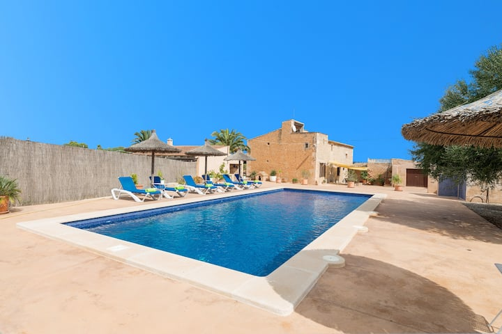 SA PUNTA (SA PUNTA BERTUMINS) - Villa with private pool in Ses Salines. Free WiFi