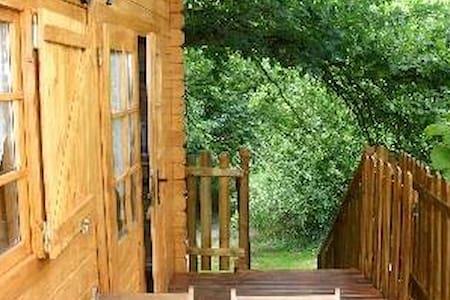 LE SOJAPI  cabanes robin des bois 2 à 5 personnes - Saint-Ouen-des-Champs