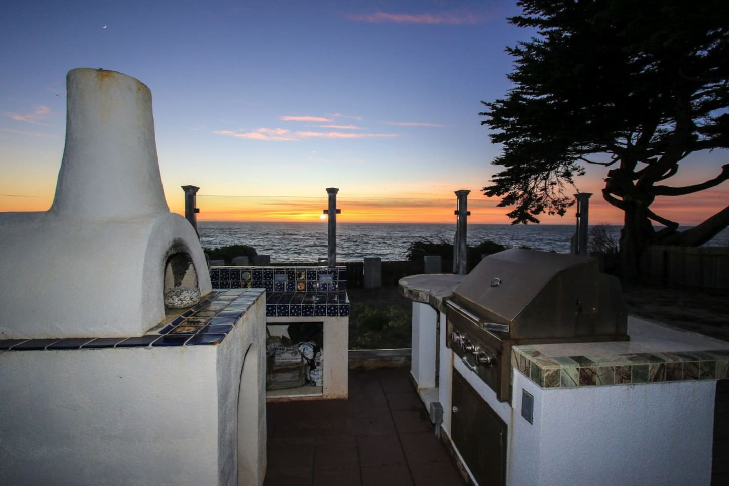 Your view from this lovely home right on the cliffs of the Pacific Ocean!