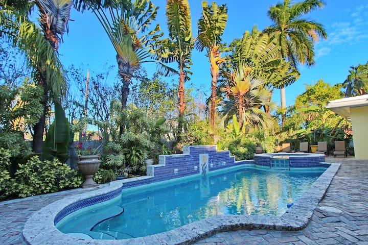 VILLA W POOL 3 MIN TO BEACH - Miami Beach - Ev