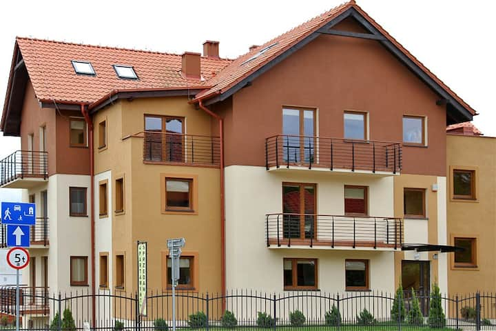 Przestronny apartament dwupiętrowy 2 ul.Gdańska 52