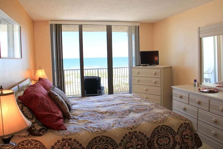 DIRECT OCEANFRONT! Ocean Beach Villas Unit 203!