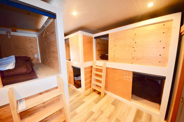 【ALL MIX dormitory】Middle of city =1min to Onsen