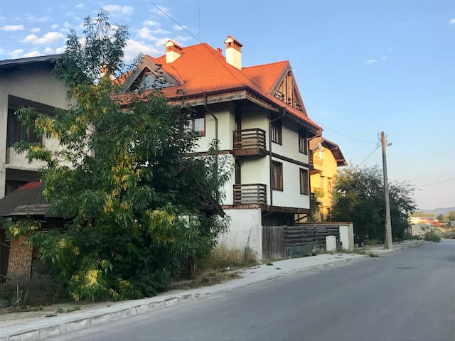 the building in traditional style