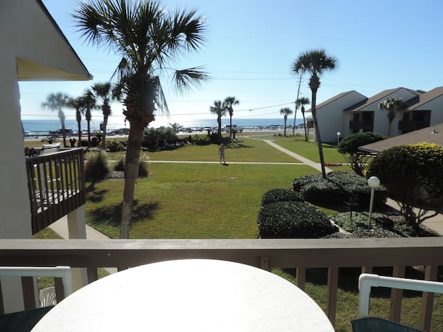 Blue Surf 2BR/2BA Gulf View Townhouse with pool - Miramar Beach - Rivitalo
