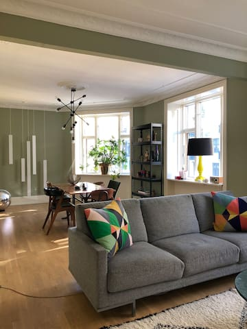 Cool & Chic Apartment in Vesterbro