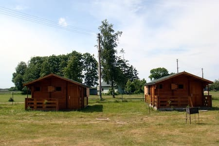 Tranquil Log Cabin Retreat in Šventoji (#2 WESTHS) - Palanga