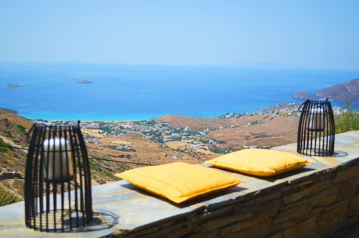 Infinite View of the Aegean at Villa Celest