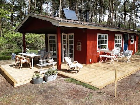 hyggeligt sommerhus ved fjord & hav
