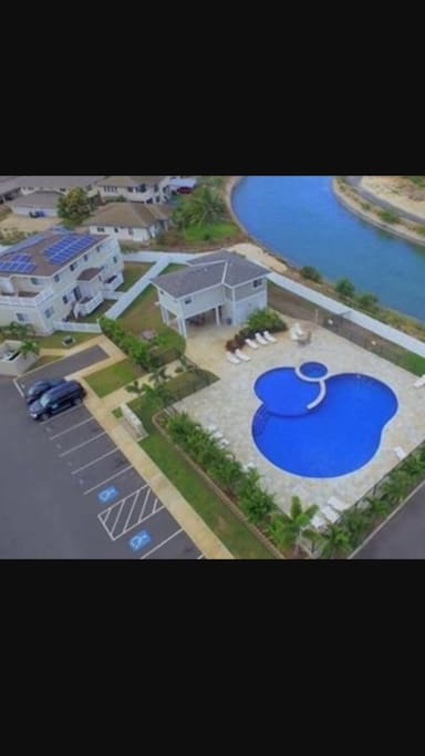 Pool: An aerial view of our gorgeous Pool
