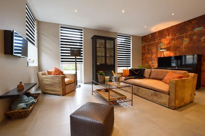 Appartement de charme à Spa avec terrasse privée