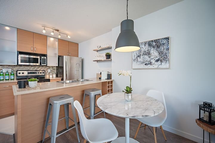 Cozy and convenient Yaletown 1 bedroom condo - Vancouver - Lägenhet