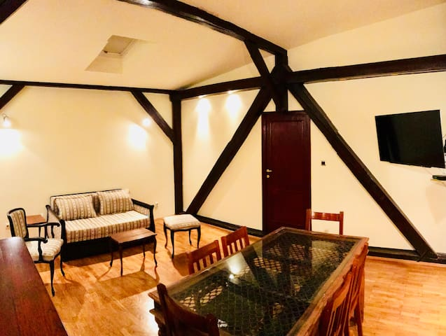 60m2, City center, Good heating in winter time