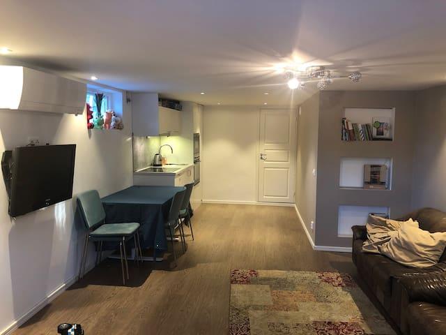 Eget hus känsla.
