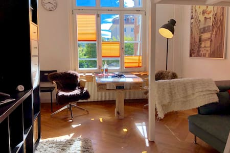 Sunny room, super central, 5min walk Bern station