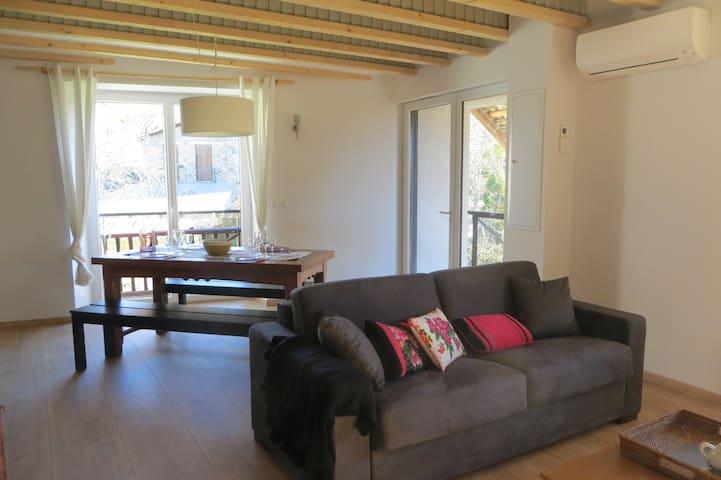 Appartement La Grange à la Maison du Bastier - Saint-Julien-en-Champsaur - Apartemen