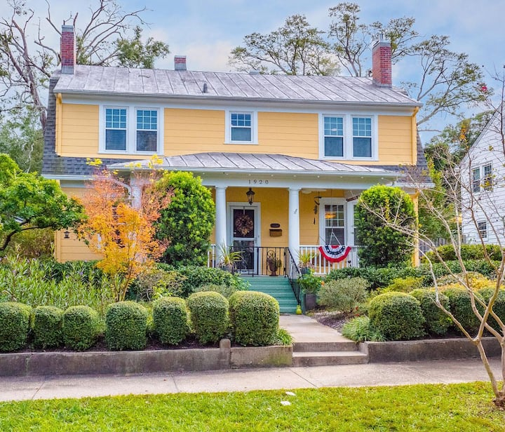 Spacious historic home in Downtown Wilmington