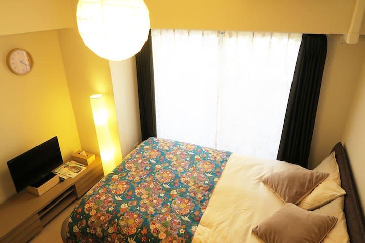 1 min from st. Cozy room in old Tokyo Nippori(SD5) - Bunkyō-ku