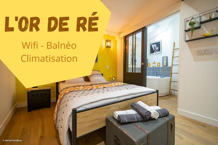 """L'or de Ré"" - Appartement confort Balnéo"